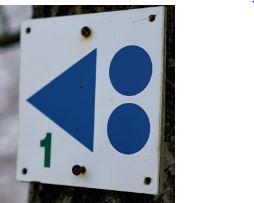 VTT Waimes - Ondenval Tour 1- balise à suivre